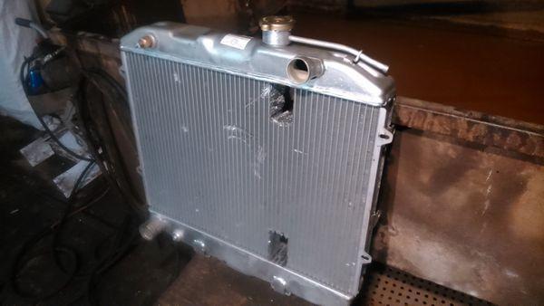 Ремонт-алюминиевого-радиатора-УАЗ